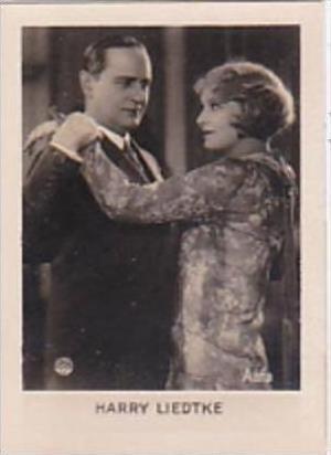 Orami Cigarette Card Film Favourites Series C No 160 Harry Liedtke