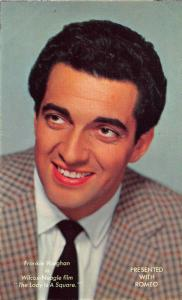 Frankie Vaughan in Wilcox Neagle Film The lady in a Square Postcard