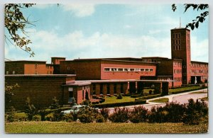 Dubuque Iowa~St Rose of Lima Priory~Catholic Dominican Fathers~1960s Postcard