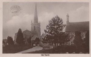Islip Church Northamptonshire Real Photo Postcard