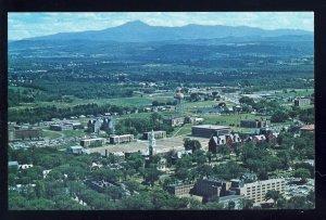 Burlington, Vermont,VT Postcard, Aerial Of U.V.M. Campus, University Of Vermont