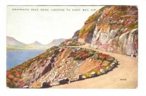 Chapman's Peak Road to Hout Bay, South Africa, 1910s