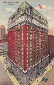 Illinois Chicago La Salle Hotel Curteich