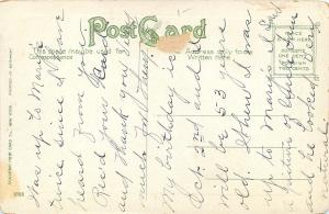 Binghamton NY My Son is Letter Carrier For This Post Office ~1910 Postcard