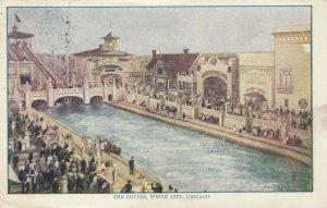 CHICAGO, Illinois, 1900-10s; White City, The Shutes