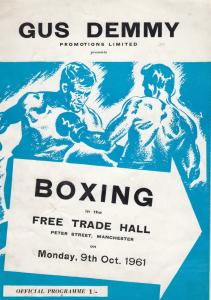Jim Of Henry Cooper Brother Fighter Sports Antique Rare 1961 Manchester Boxin...