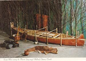 Canada Birchbark Canoe Sainte-Marie Among The Hurons Midland Ontario
