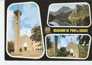 Postal 022674 : Pont de Suert, Pirineu Catala (Lleida)
