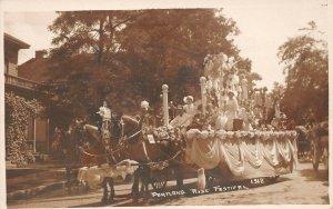 LPS86 Portland Oregon Rose Festival Children's Parade Float Postcard RPPC