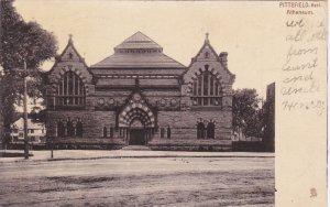 TUCK #7058; PITTSFIELD, Massachusetts; Atheneum, PU-1907
