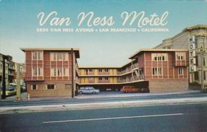 California San Francisco Van Ness Motel 1967