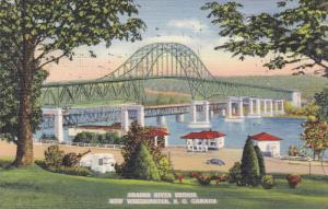Fraser River Bridge, New Westminster, British Columbia, Canada, PU-1941