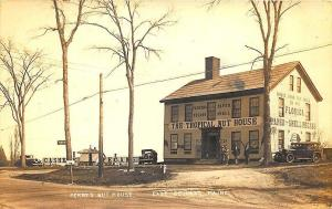 East Belfast ME Perry's Topical Nut House Old Cars Roadside RPPC Postcard