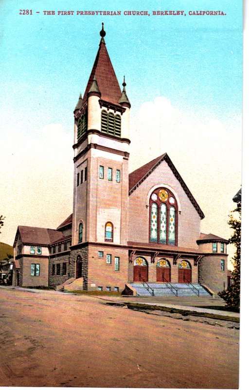 2381 - The First Presbyterian Church, Berkeley, California