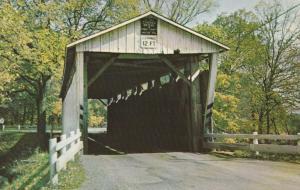Everett Road Covered Bridge - Boston Township, Summit County, Ohio