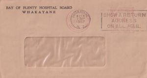 Bay Of Plenty Hospital Radio Whakatane New Zealand Envelope Postmark