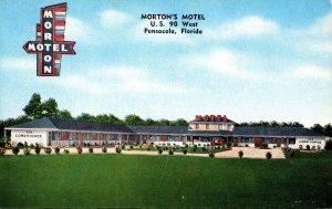 Florida Pensacola Morton's Motel U S 90 West