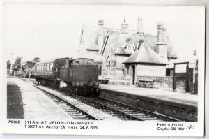 RPPC, Steam at Upton-On-Severn T 58071 Aschurch Train