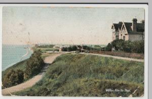 Essex; Walton From The Naze PPC, 1908 PMK, To Mrs Head, Bury St Edmunds