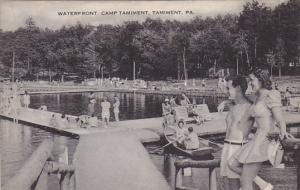 Waterfront Camp Tamiment Tamiment Pennsylvania Artvue