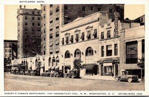 Washington D C Mayflower Hotel Harvey's Famous Restaurant