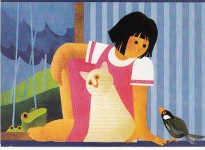 Simon & Schuster Ad Card for Children's Book  Jumbo Card