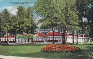 Indiana Winona Lake Billy Sunday Tabernacle