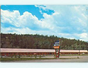 Unused Pre-1980 HATCHET MOTEL & RESTAURANT Moran Wyoming WY u4629
