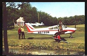 Aviation Airplane New Beechcraft Musketeer II