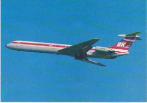 Czechoslovak Airlines Ilyushin II - 62 Jet in Flight