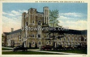 The Union, West Campus, Duke University in Durham, North Carolina