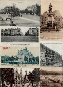 France Dieppe Cantal Donon Dunkerque And More Lot of 20 Postcards 01.07