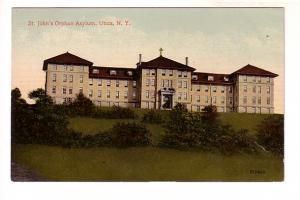 St John's Orphan Asylum, Utica, New York, Sepia