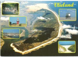 Holland, Netherlands, Vlieland, 1984 used Postcard