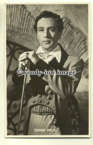 b2605 - Film Actor - Dennis Price - postcard