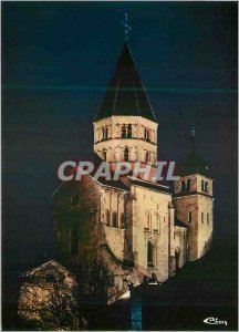Modern Postcard Cluny (S & L) The Abbey Illuminee