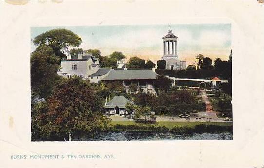Burn's Monument & Tea Gardens, Ayr (Scotland), UK, 1900-1910s