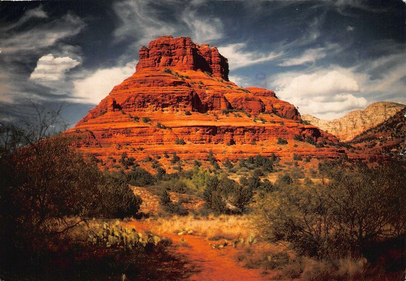 Sedona Bell Rock is seen on Arizona Route 179 Postcard