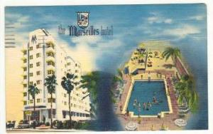 Marseilles Hotel , Miami Beach, Florida , PU-1951