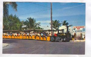 Conch Miniature Tour Train, Key West , Florida , 40-60s #1
