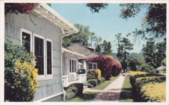 California Pebble Beach Cottage Row Del Monte Lodge