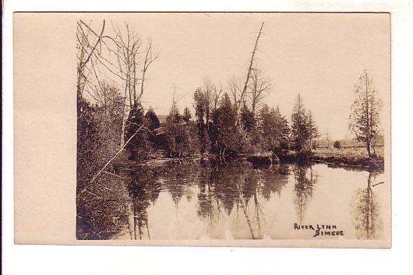 Real Photo, River Lynn, Simcoe, Ontario
