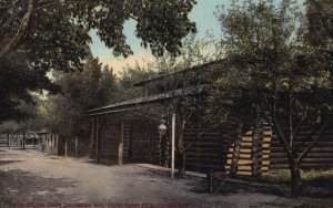 CLEVELAND, Ohio, PU-1910; The Old Log Cabin Convention Hall, Euclid Beach Park