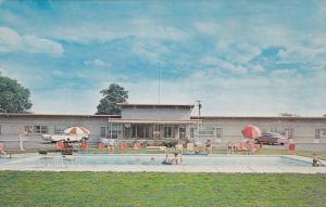 Sago Motel, Swimming Pool, Ontario, Canada, 40´s-60´s
