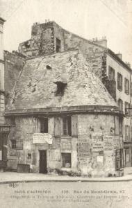 CPA Paris 18e (Dep. 75) Rue du Mont-Cenis (59708)