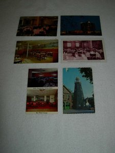 Portland ME - Lot Of 6 Great Vintage Postcards - x0606