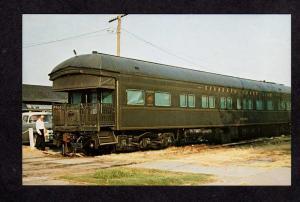 Seaboard Air Line Railroad Train Norfolk Car Postcard President SAL