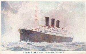 Ocean Liner , T.S.S. TRANSYLVANIA , Anchor Line , 1910s-30s