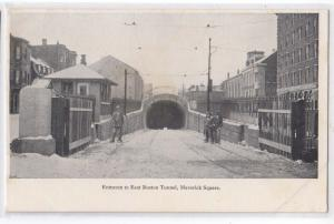 East Boston Tunnel, Maverick Square, MA