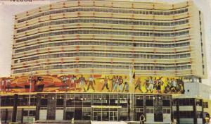 Exterior,  Social Security Modern Building,  Guayaquil,  Ecuador,  40-60s